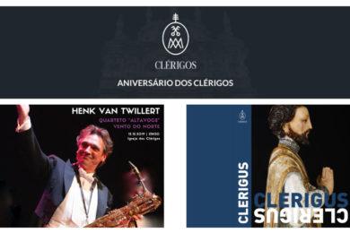 Porto: Aniversário dos Clérigos com apresentação do catálogo «Clerigus»