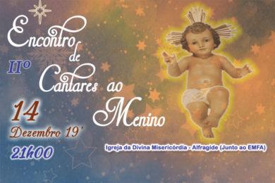 Igreja/Natal: Encontro de cantares ao Menino com folclore em Alfragide