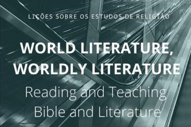 UCP: Lição sobre estudos de religião aborda a literatura mundial e a Bíblia
