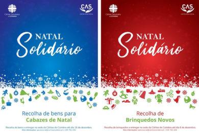Coimbra: Cáritas diocesana promove campanha «Natal Solidário»