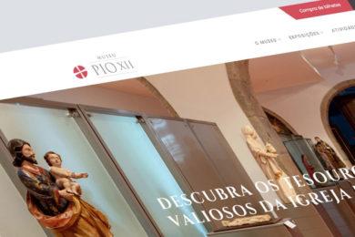 Igreja/Património: Renovação do website do Museu Pio XII em Braga