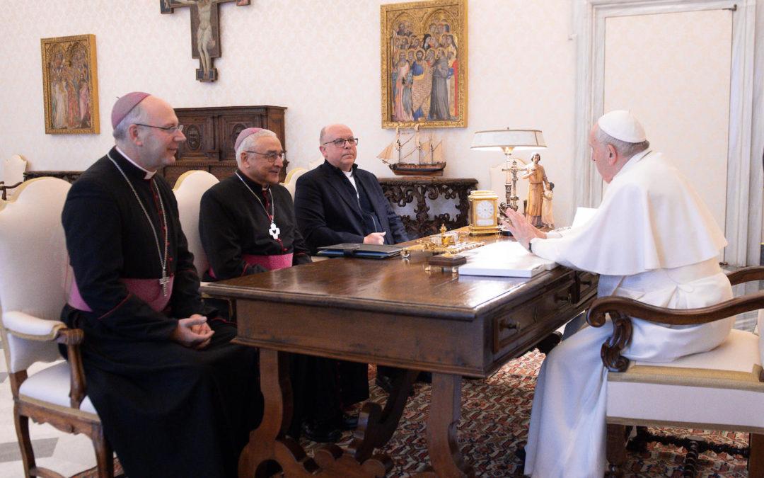 Vaticano: Papa recebeu presidência da Conferência Episcopal Portuguesa e evocou impacto da pandemia (c/áudio e fotos)
